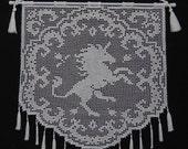 Unicorn Enchantress Wall Hanging Pattern PDF Digital Download