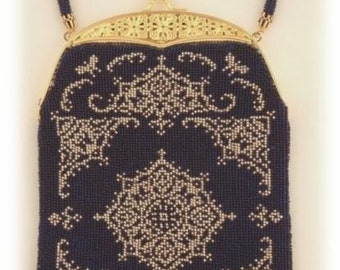 Chance ( Crocheted Beaded Purse Pattern ) PDF Digital Download