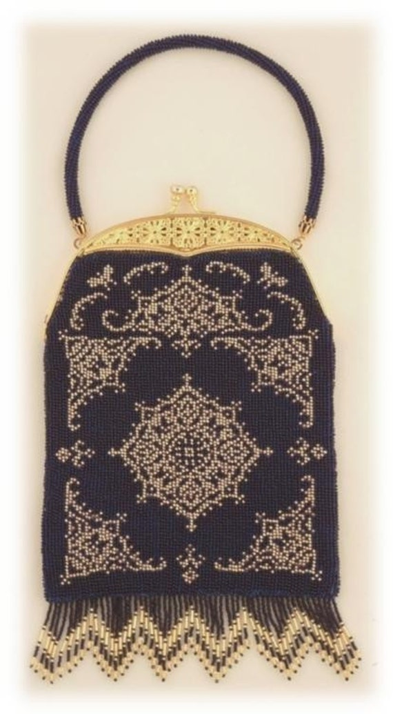 Items similar to Chance ( Crocheted Beaded Purse Pattern ) PDF Digital ...