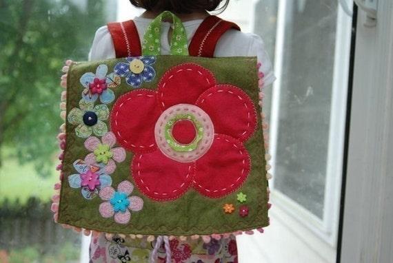 Busy Little Flower Power Backpack