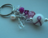 breast cancer awareness keychain