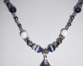 stunning sodalite necklace
