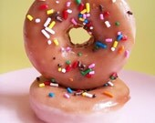 Chocolate Sprinkle Doughnut Soap - Frosted Donut, Fake Food Soap, Donut Soap, Fun Soap, Birthday Gift, Children Party Favors