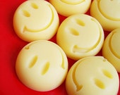 Smiley Face Soap Set - Happy Face Soap, Banana Soap, Get Well Soon, Thank You Gift, Soap Favors, Mini Soap, Kids Soap, Childrens Soap, Bath