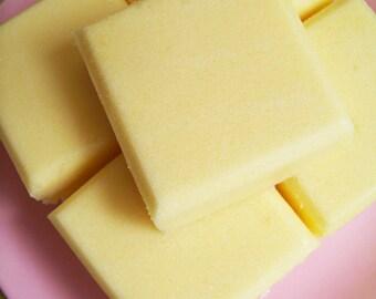Solid Sugar Scrub Soap Banana Bar - Sugar Scrub, Soap Bar, Banana Soap, Scrub Soap, Exfoliating Soap, Teen Gift, StockingS Stuffer, Hostess