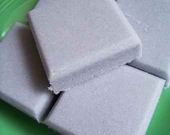 Solid Sugar Scrub Soap Black Raspberry Vanilla Bar - Bath Scrub, Sugar Soap, Party Favors, Soap Gift, Exfoliating Soap, Teen Gift, Purple