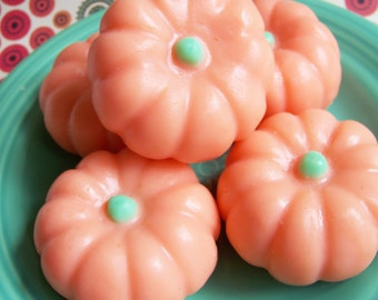 Pumpkin Soap - Halloween Soap, Pumpkin Spice, Jack O Lantern, Fall Soap, Gag Gift, Soap Favors, Trick or Treat, Fun Soap, Kids Soap, Spooky