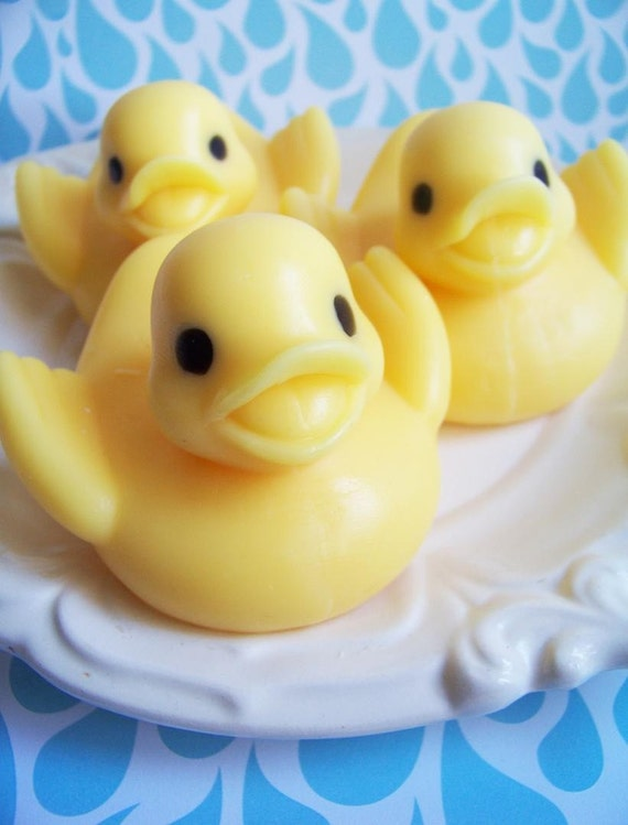 Rubber Duck Soap - Rubber Ducky Soap, Soap Favors, Baby Shower Favors, Banana Soap, Bath Soap, Baby Shower, Animal Soap, Kids Soap, Gift