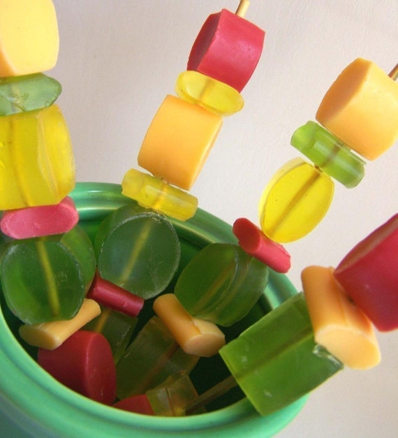 Fruity Soap Kabobs