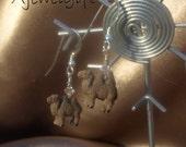 Camel Earrings (9092)
