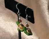 Turtle Earrings (9099)