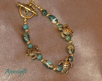 Sea Turtle Bracelet 11-