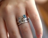 Stackable Rings With 14k
