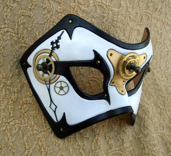 Time Bandit V5... original mixed media handmade steampunk mask