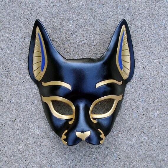 Egyptian Cat Mask Bast