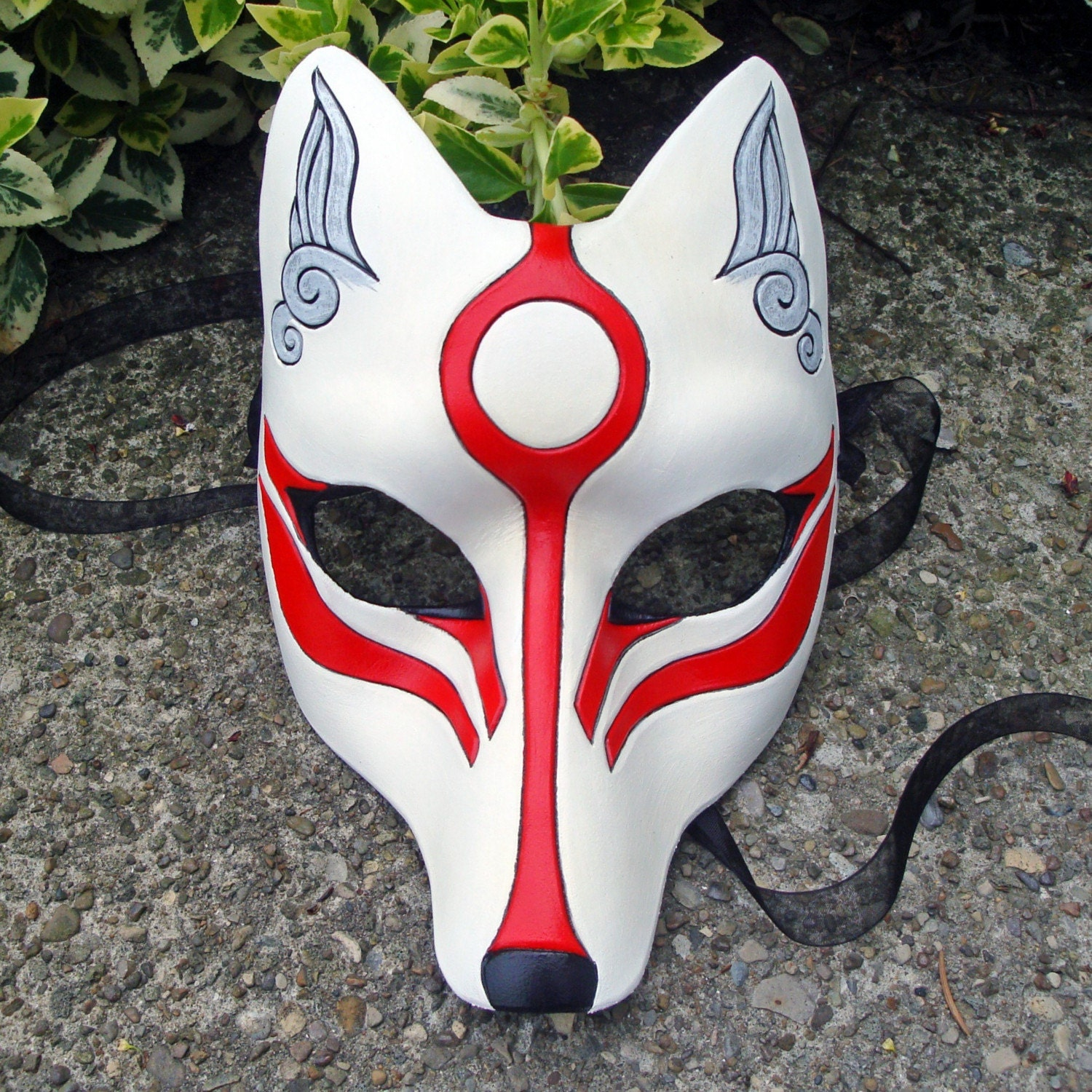 Japanese wolf mask - photo#2