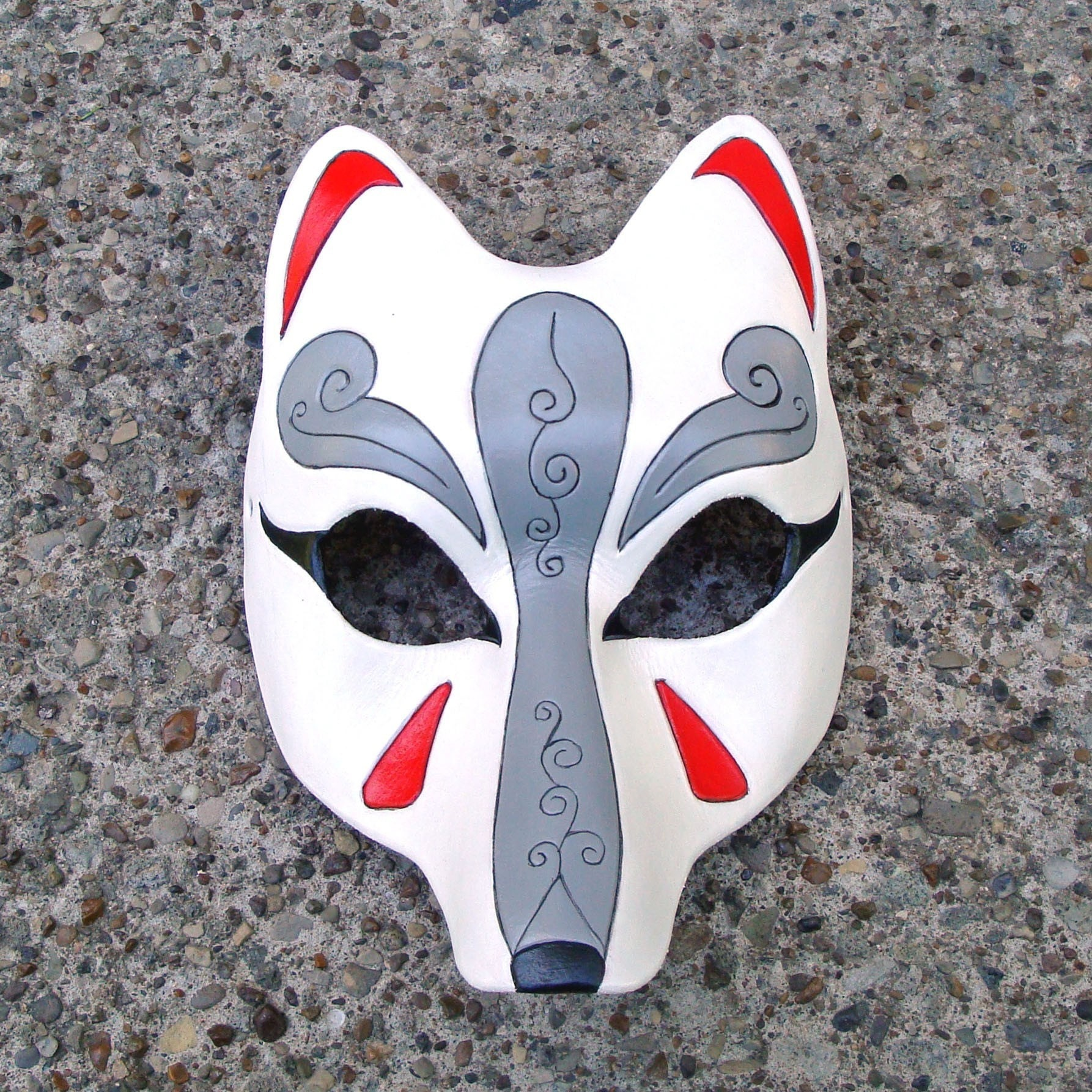 Japanese wolf mask - photo#24