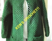ALL ABOUT EVE Sweater/Duster-PDF Pattern Only