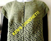 Urban Lady's Cardi-PDF Pattern Only