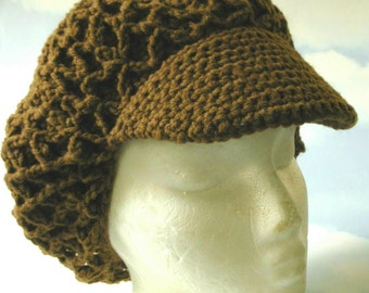 Reversible Newsboy Cap PDF Digital Download  Pattern Only