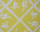 RESERVED Mod Wall Covering Bright Yellow Floral Dupont Flair Squares Vintage Wall Paper