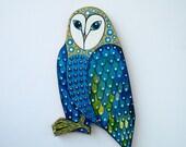 Artist OWl wood cutting board