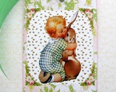 Sweet Baby and Bunny Gift Tags