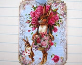 Rabbit Tags Shabby French