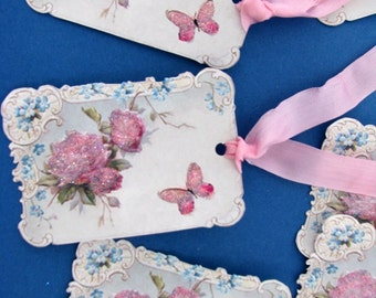 Cottage Sweet Butterfly Tags