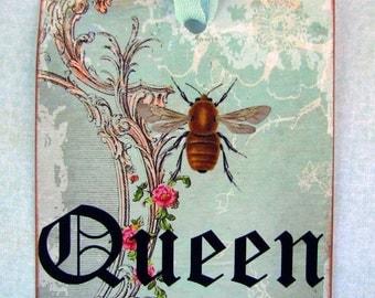 Queen Bee Tags
