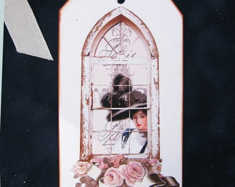 Victorian Cathedral Window Tags II