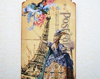 Marie Antoinette Paris France Gift Tags