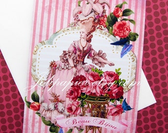 Marie Antoinette Note Cards