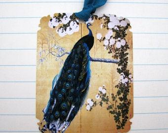 Elegant Peacock Gift Tags