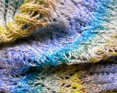 Cowl Cool Tone Mohair, linen, cotton tweed