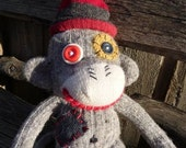 Wool Sock Monkey