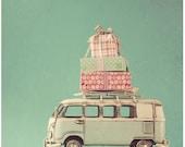 Postcard - Camper