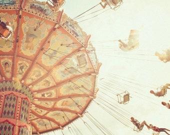 8x8 inch Carousel fine art photograph