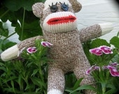 Little Chunky Sock Monkey Kit - NEW SIZE