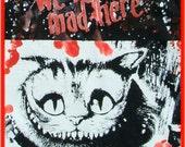 DiY Alice in Wonderland Cheshire Cat Small Tote Bag Tim Burton