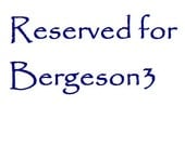 Reserved for Bergeson3