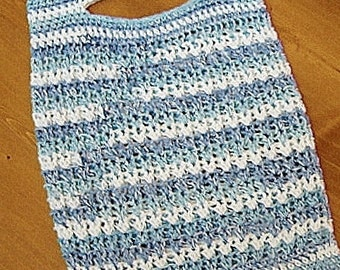 PATTERN - The Schlepper  Market Tote Bag Crochet Pattern-Eco Friendly Attitude-Easy and Fun To Crochet