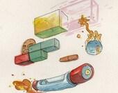 Arkanoid - original NES illustration
