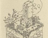 Ghini - print of legend of zelda illustration