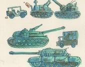 Conflict - original NES illustration