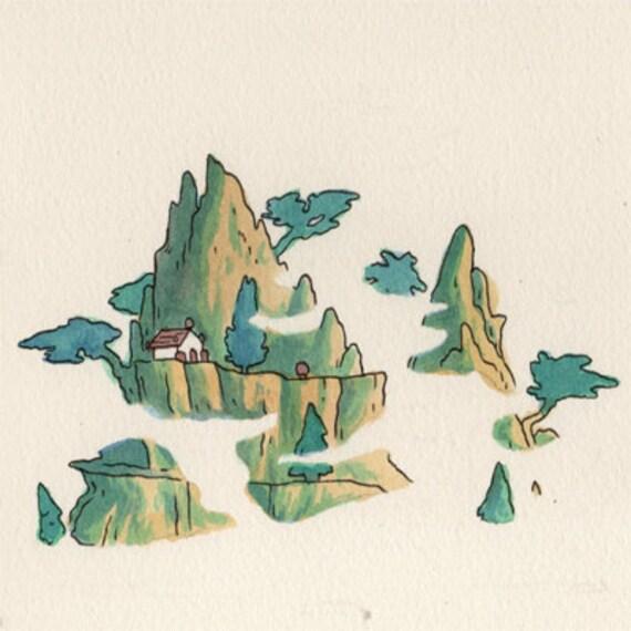 Romance of the Three Kingdoms - original NES illustration