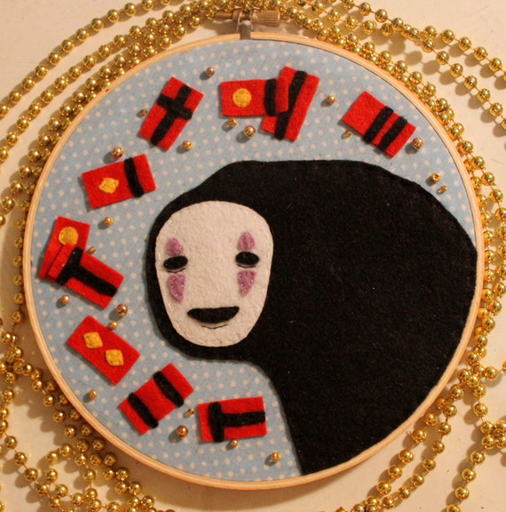 No-Face Embroidery Hoop-  ON SALE