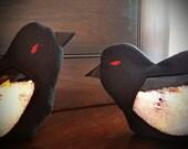 Raven I Spy Bag - a little bit of darkness
