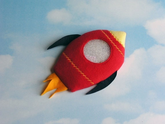 Rocket Ship I Spy Bag - take it on your next trip to outer space