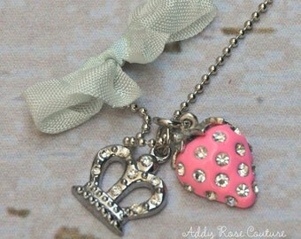 Juicy Princess Strawberry Necklace by Chic Baby Rose